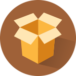 packaging and distribution icon